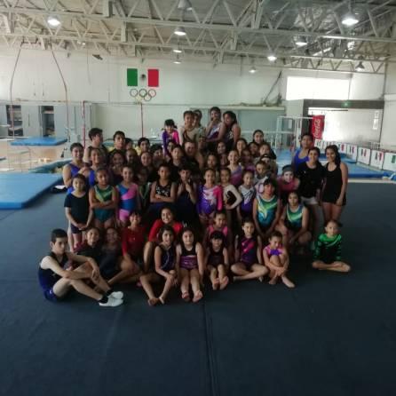 Fin de semana de taller en gimnasia acrobática