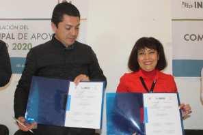 Firman convenio Inegi y la Presidencia de Zempoala