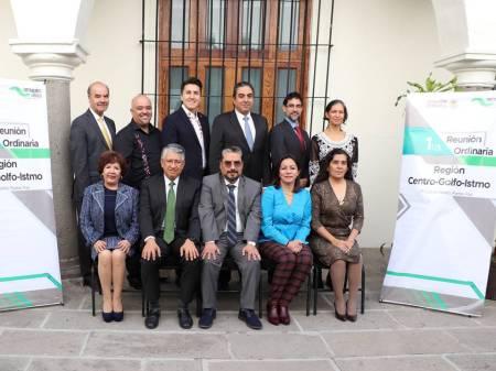 Hidalgo encabeza primera reunión regional de la comisión de contralores 2