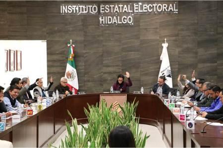 IEEH aprueba 12 manifestaciones de intención más de aspirantes independientes