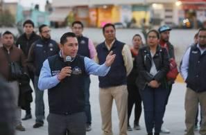 Inaugura Raúl Camacho Baños pavimentación de concreto hidraulico en avenida 1° de mayo del Fracc. El Saucillo 1