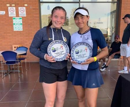 La selección estatal de Hidalgo de tenis participo en el torneo regional de la disciplina1