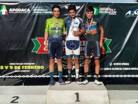 Participan ciclistas hidalguenses en el Grand Prix de las Constituciones1