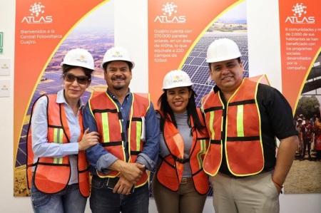Presenta empresa Atlas funcionamiento del Parque Solar de Nopala de Villagrán a Diputadas y Diputados locales