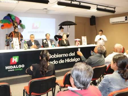 Presentan en Hidalgo Mágico las actividades del Carnaval Tlaxcala 2020