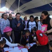 Promueve DIF municipal Feria Interactiva de Lectura en sus CAIC´s1