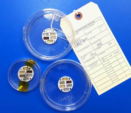 Regresan a tierra muestras enviadas a la Estación Espacial Internacional2