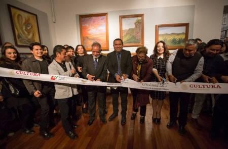 Secretaría de Cultura reconoce talento de artistas hidalguenses en el Cuartel del Arte 2