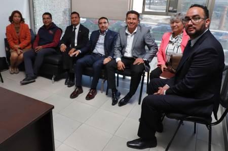 Sindicatos de la UAEH continúan negociaciones del pliego petitorio