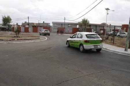 SOPOT concluye pavimentación de la calle Cisne Norte en Pachuca