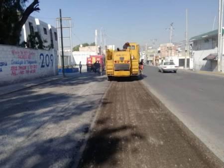 SOPOT continúa con la rehabilitación de vialidades en Pachuca1