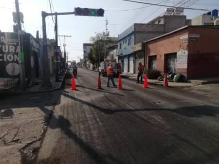 SOPOT continúa con la rehabilitación de vialidades en Pachuca2