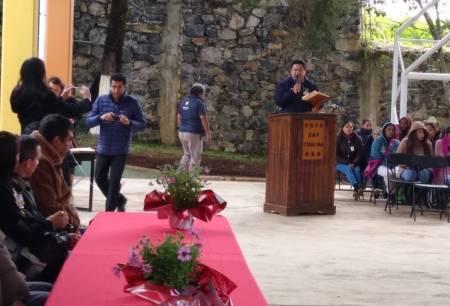 SOPOT inaugura techumbre en Telesecundaria de Lolotla1