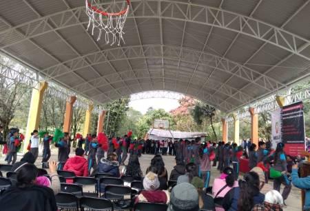SOPOT inaugura techumbre en Telesecundaria de Lolotla2