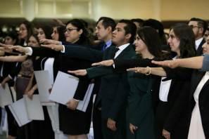 Toman protesta 479 titulados de la UAEH