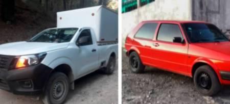 Tras reporte al C5i Hidalgo, dos detenidos por Policía Estatal derivado de presunto asalto