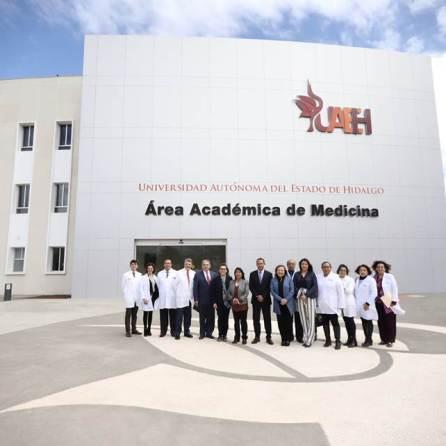 Visita presidenta de la Comisión de Salud de Cámara de Diputados Federal, Ciudad Universitaria Tulancingo2