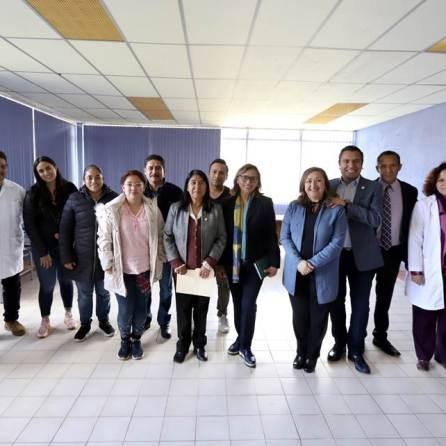 Visita presidenta de la Comisión de Salud de Cámara de Diputados Federal, Ciudad Universitaria Tulancingo4