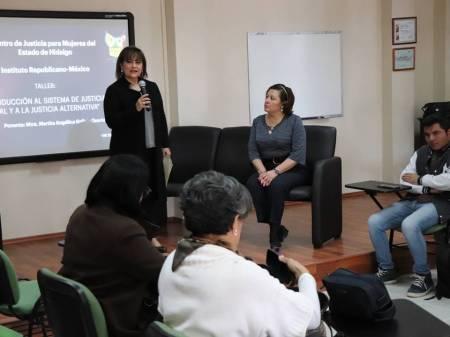 CJMH en alianza con IRI continúa capacitando en el SJPA y Justicia Alternativa1