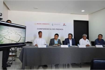 Conagua informa sobre las condiciones de sequía en Hidalgo y realiza acciones de prevención en la materia