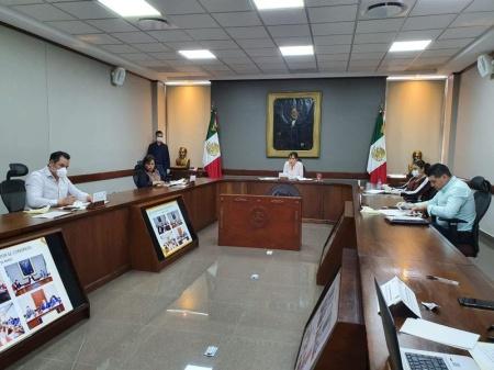 Continúa Junta de Gobierno del Congreso del Estado en sesión permanente