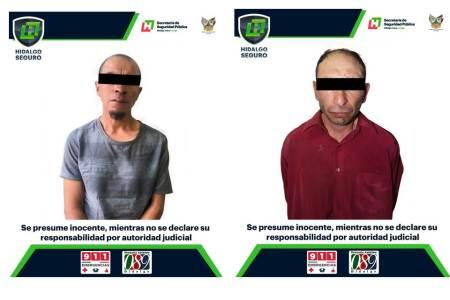 Dos detenidos, tras presuntas agresiones contra mujeres en región de Pachuca