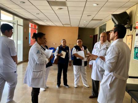 Equipo de salud recorre hospitales para verificar protocolo de reconversión en atención de COVID 19