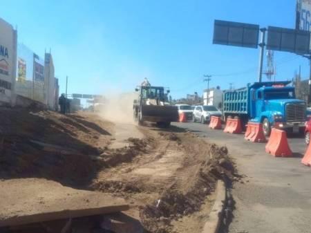 Habrá cambios de circulación en bulevar Colosio entronque Carretera Federal Pachuca-Tulancingo por trabajos de 4ª Etapa de la Supervía 2