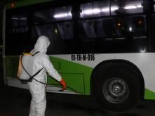 Implementa Fayad medidas preventivas en el transporte público 2