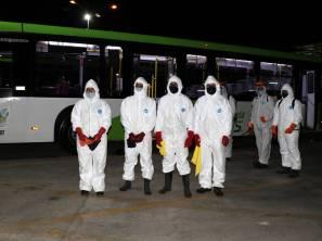 Implementa Fayad medidas preventivas en el transporte público 3