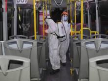 Implementa Fayad medidas preventivas en el transporte público 4