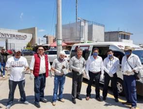 Implementa Fayad medidas preventivas en el transporte público 7