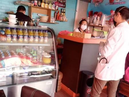 Implementan medidas sanitarias en tianguis y mercados de Santiago Tulantepec2