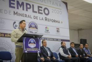 Inaugura Raúl Camacho Baños Expo Metropolitana del Empleo 1