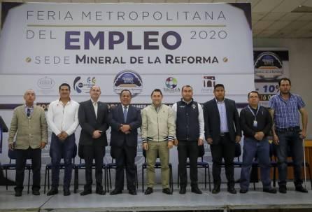 Inaugura Raúl Camacho Baños Expo Metropolitana del Empleo 4