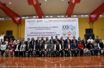Inauguran el XXII Concurso de Prototipos y III Encuentro de Emprendedores 2020 Etapa Estatal de la UEMSTIS4