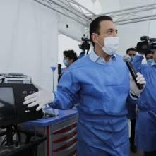 Información permanente sobre coronavirus y cifras reales, compromiso de Omar Fayad con la sociedad10
