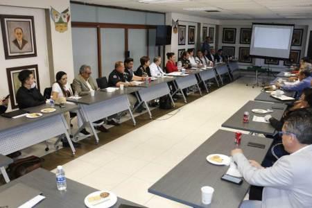 Instalan Consejo Estatal de Protección Civil como refuerzo del Operativo Escudo
