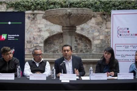 Lanza Secretaría de Cultura Circuito Escénico Comunitario