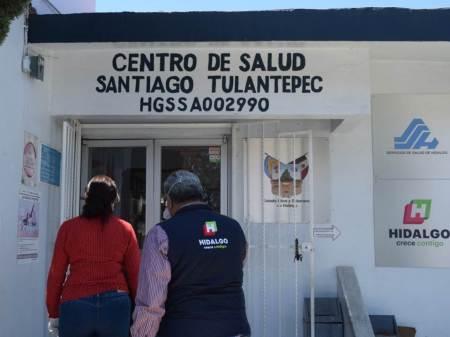 Listas medidas sanitarias contra COVID-19 en centros de salud de Santiago Tulantepec