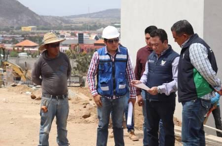 Meneses Arrieta supervisa avance del Centro de Identificación Humana para el Resguardo Temporal de Hidalgo2