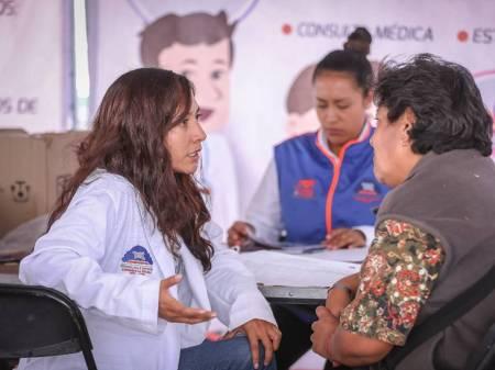 Mineral de la Reforma, alista Jornada de Salud en el marco del Día Internacional de la Mujer1
