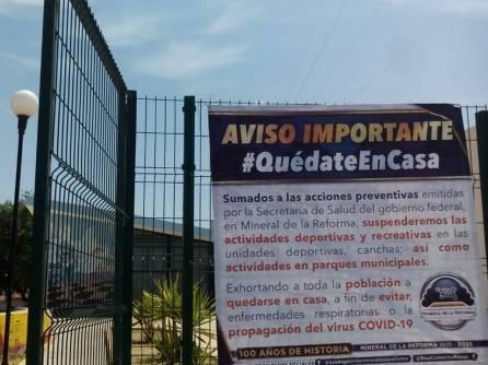 Mineral de la Reforma continúa sumando medidas preventivas ante COVID-19-1