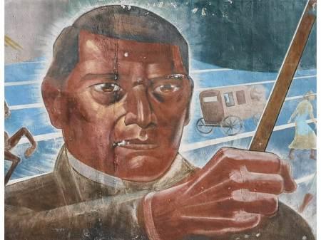 """Obras de restauración de murales """"Nacionalismo Revolucionario"""", en el segundo semestre, considera diputada Corina Martínez"""