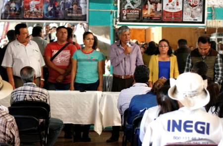 Presentan a quienes fungen como encuestadores durante el Censo de Población y Vivienda 2020 en Tizayuca
