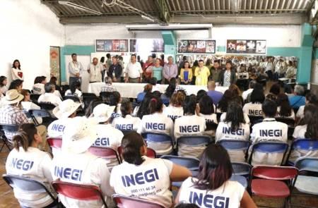 Presentan a quienes fungen como encuestadores durante el Censo de Población y Vivienda 2020 en Tizayuca2