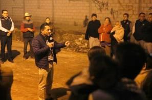 Realiza Raúl Camacho Baños banderazo de obra para la construcción de pavimentación en la localidad de NCPA Chacón 1