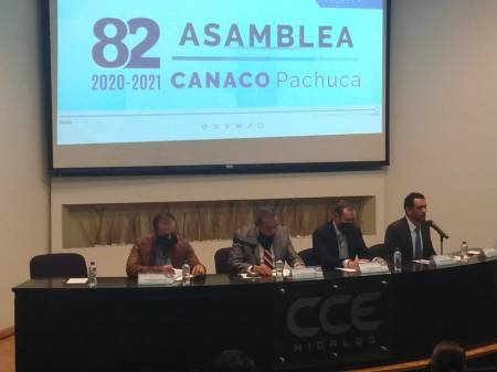 Reeligen a Sergio Trujillo como presidente de CANACO Servytur Pachuca