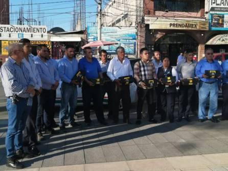 Transportistas de Tizayuca implementan medidas para evitar contagios por COVID-19-4