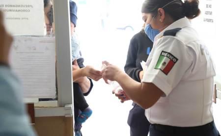 """Unidades médicas de la SSH cuentan con módulos de orientación y diagnóstico COVID19"""""""